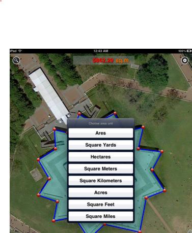 Map Measure for iPadiPad App Finders