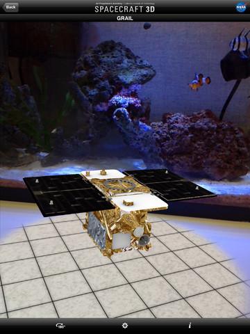 Spacecraft 3D for iPadiPad App Finders