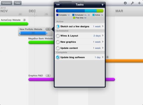 project timeline app