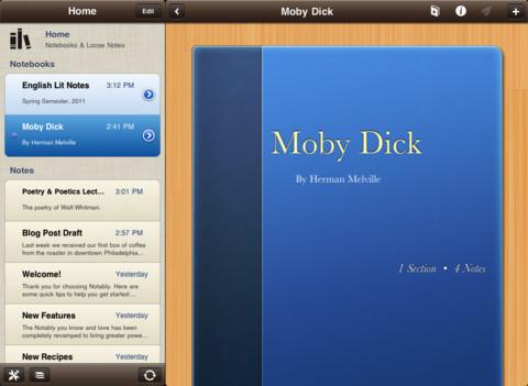 notably app