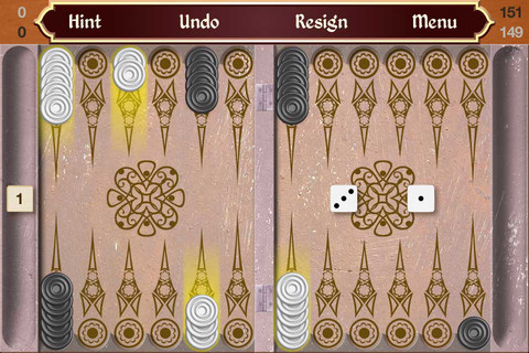 backgammon touch