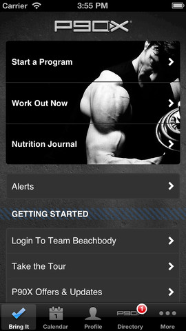 3 P90X Apps for iPad & iPhone