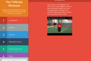 7 Minute Workout for iPad