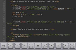 Kodiak JavaScript for iPad