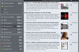 5 Quality Feedly iPad Apps