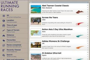 Ultimate Running Races for iPad