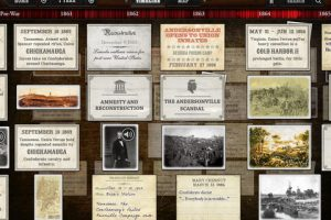 Timeline Civil War for iPad