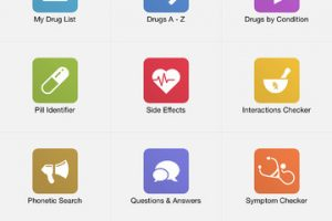 Drugs.com Medication Guide for iPad