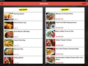 Food.com For iPad