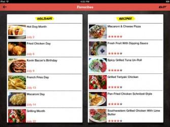 Food.com For iPad