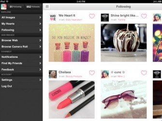 We Heart It for iPad