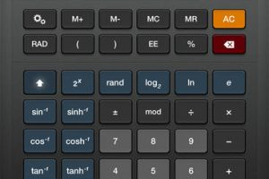 Sci:Pro Calculator for iPad