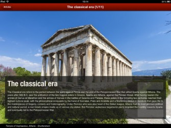 TimeMaps Ancient Greece for iPad
