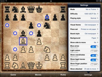 Chess Pro – with coach: Chess Tiger for iPad