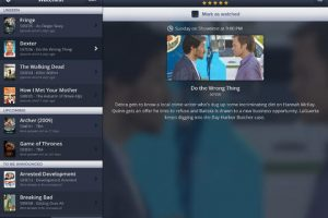 Episodes for iPad