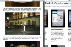 SplitBrowser for iPad