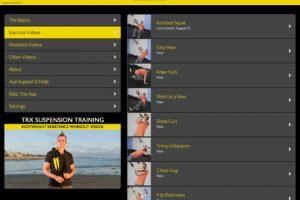 TRX Suspension Training for iPad