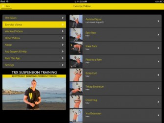 TRX Suspension Training for iPad