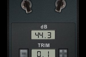 dB Volume Meter for iPad