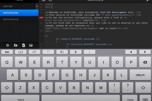 DraftCode PHP IDE for iPad