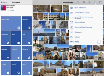 FlickStackr for Flickr for iPad