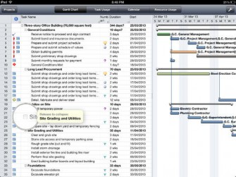 Projects adlib for iPad: Microsoft Project Opener