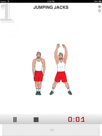 7 Min Workout for iPad