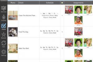 Chore-inator for iPad