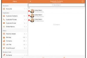 Cleaner Pro for iPad: Remove Duplicate Contacts