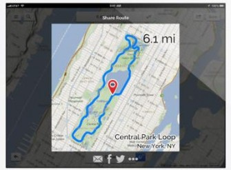 Footpath Route Planner for iPad