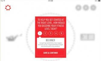 Johnson & Johnson 7 Minute Workout iPad App