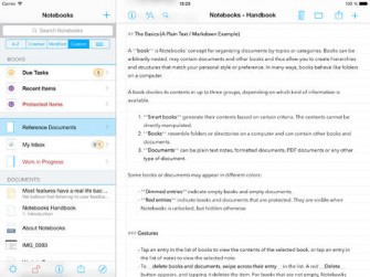 Notebooks 7 for iPad