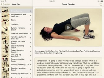 5 iPad Apps for Injury Rehab