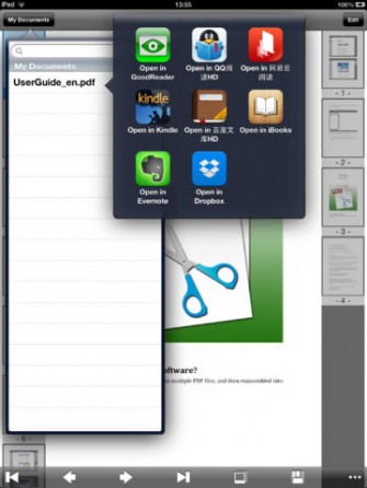 PDF Clipper for iPad: Edit PDF Files