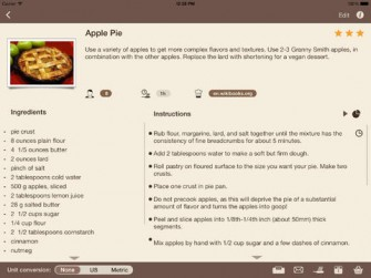 HotPot Recipe Manager for iPad