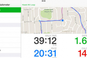 Walkmeter GPS Pedometer for iPhone & iPad