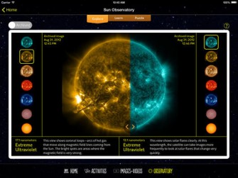DIY Sun Science for iPad