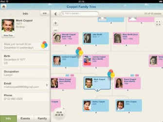 4 Family Tree Apps for iPad