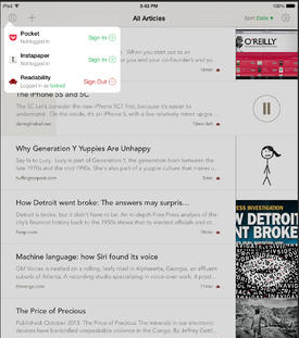 Outread for iPad: Speed Reading App
