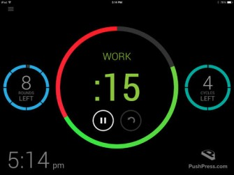 PushPress Timer for iPad & iPhone