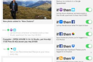 IFTTT for iPad