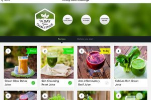 14 Day Juice Challenge for iPad