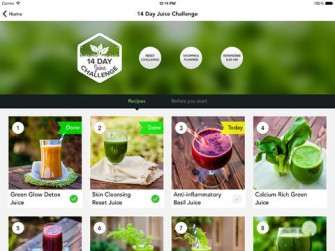 14 Day Juice Challenge for iPad