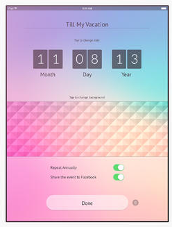 My Day: Countdown Timer for iPhone