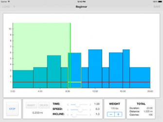 Treadmill Interval Running for iPad