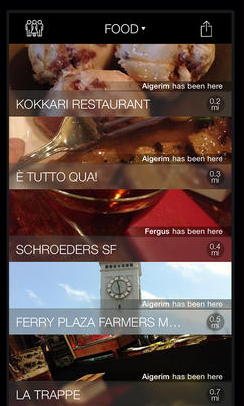 Wist for iOS: Find Restaurants