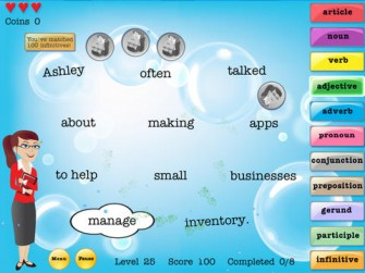 Grammar Pop HD for iPad