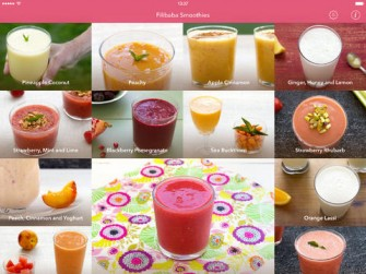 Filibaba Smoothies App for iPad