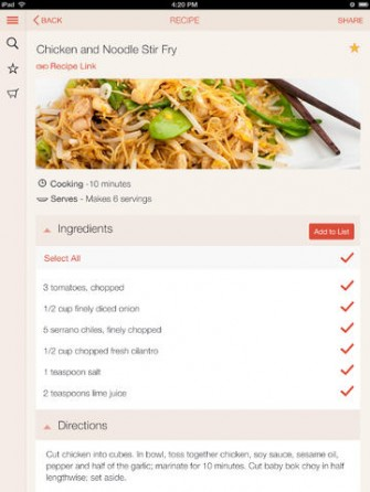 Su Chef Healthy Recipes for iPad