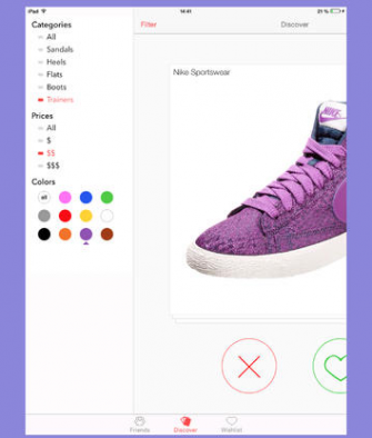 Stylect for iPad & iPhone: Find Shoes